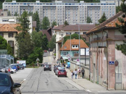 Rue de Morgarten - La Chaux-de-Fonds - CH © Lucile Develey