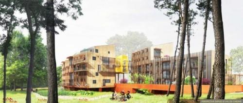 Grand Carcouet - Logements sociaux à énergie positive © Nantes