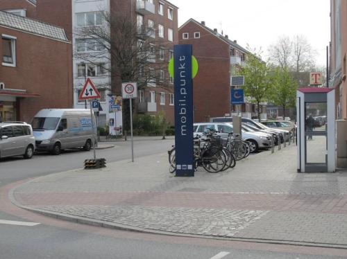 Station d'auto-partage © Ville de Brème