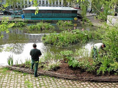 Nantes jardins flottants © Ville de Nantes