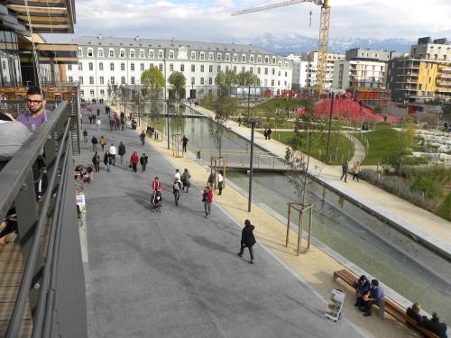 Ecoquartier de Bonne à Grenoble – Parc (source: SAGES)