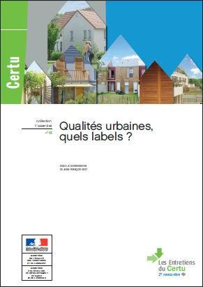 Labels de qualité urbaine_Source CERTU
